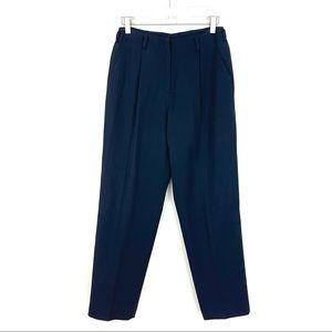 Vintage DKNY Wool High Waisted Pleated Pants